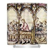 Spain: Medieval Hospital Shower Curtain