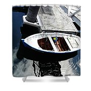 Row Boat In Spain Series 28 Shower Curtain