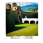 Spanish Castle Shower Curtain