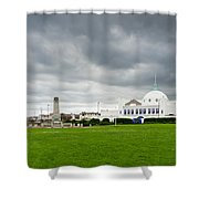 Spanish City At Whitley Bay Shower Curtain