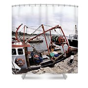 Spanish Eyes And New Seeker 2 Shower Curtain