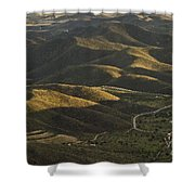 Spanish Landscape In Andalusia Shower Curtain