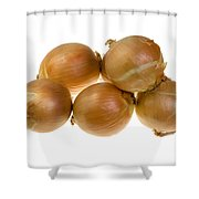Spanish Onions Shower Curtain