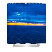 Spanish Sea Shower Curtain