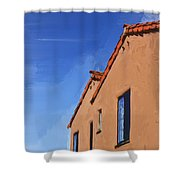 Spanish Style Shower Curtain