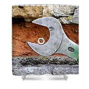 Spanner And Bolt Shower Curtain
