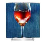 Sparkling Moscato Shower Curtain