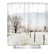 Sparks Lane Shower Curtain