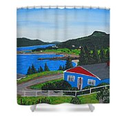 Sparrows Point - Ship Harbour N L Shower Curtain