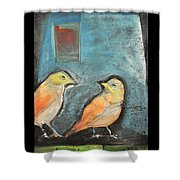 Sparrows Shower Curtain