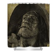 Spartacus Shower Curtain by Dan Sproul