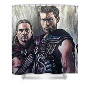 Spartacus Shower Curtain