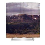 Spatzizzi Plateau Shower Curtain