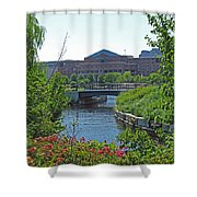 Spaulding Rehab From North Point Park Shower Curtain