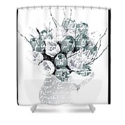 Speak Softly Tulips Shower Curtain