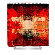 Speakers 2 Shower Curtain