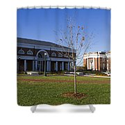 Special Collections Library And Alderman Library University Of Virginia Shower Curtain