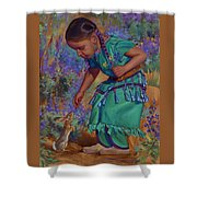 Special Encounter Shower Curtain