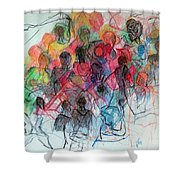 Special Needs Family Shower Curtain