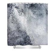 Speckled Sheet Shower Curtain