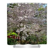 Spectacular Japanese Garden Shower Curtain