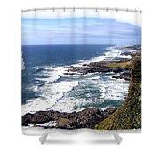 Spectacular Oregon Shower Curtain