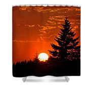 Spectacular Sunset IIl Shower Curtain