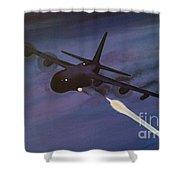 Spectre Ac130 Gunship 5 X 3 Feet Shower Curtain