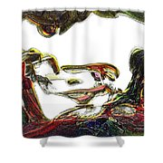 Specularity Shower Curtain