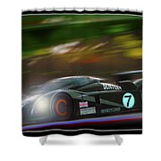 Speed 8 At Night Shower Curtain