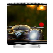 Speed 8 At Sunset Shower Curtain