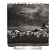 Spegazzini Glacier Argentina Shower Curtain