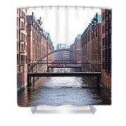Speicherstadt Hamburg Shower Curtain