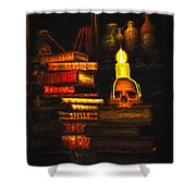 Spells Shower Curtain by Bob Orsillo