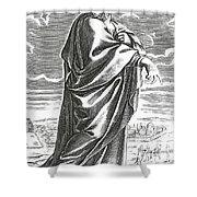 Speusippus, Ancient Greek Philosopher Shower Curtain