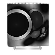 Sphere 10 Shower Curtain