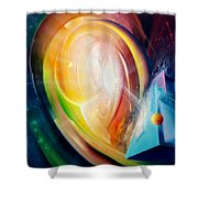 Sphere B11 Shower Curtain