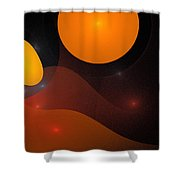 Sphere Shower Curtain