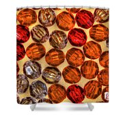 Spheres Of Beads Shower Curtain
