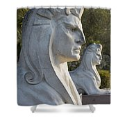 Sphinxes Shower Curtain