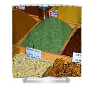 Spice Bar Shower Curtain