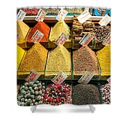 Spice Shower Curtain
