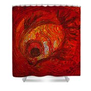 Spiced Fish Shower Curtain