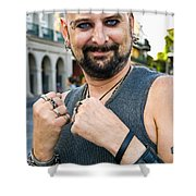 Spider The Seer In New Orleans Shower Curtain