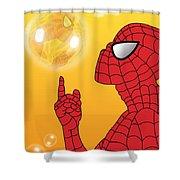 Spiderman 3 Shower Curtain