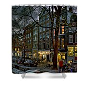 Spiegelgracht 8. Amsterdam Shower Curtain