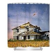Deep Autumn In Saskatchewan Shower Curtain