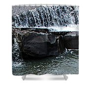 Spillway Pano Shower Curtain