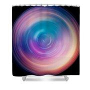 Spin Art 1 Shower Curtain