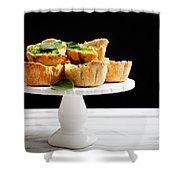 Spinach Pie Shower Curtain